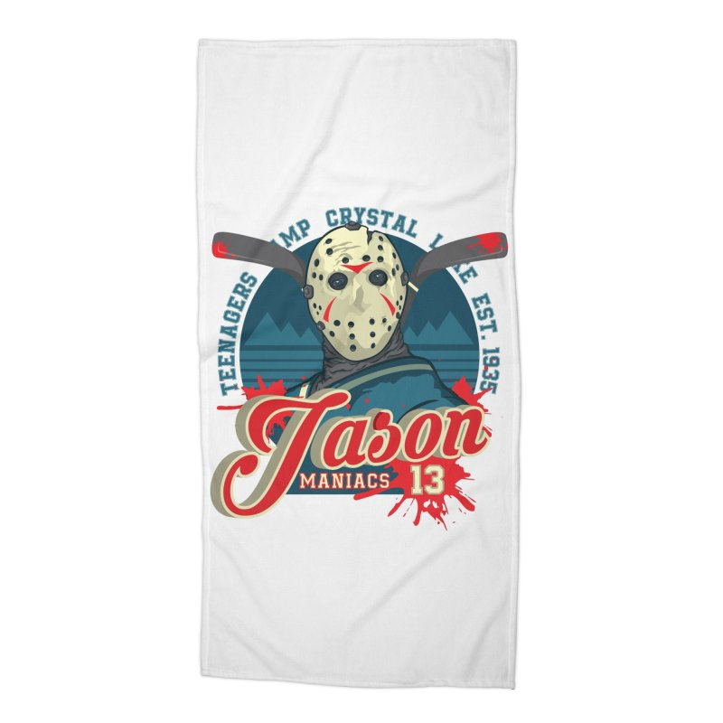 Jason Maniacs Accessories Beach Towel by malgusto