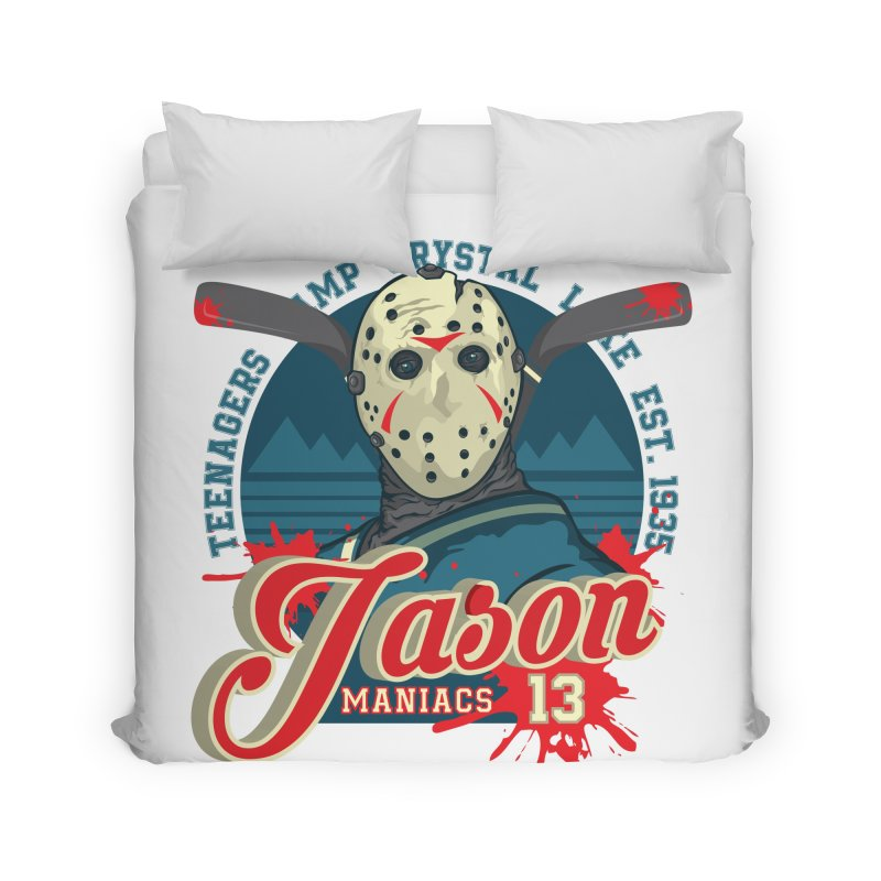 Jason Maniacs Home Duvet by malgusto
