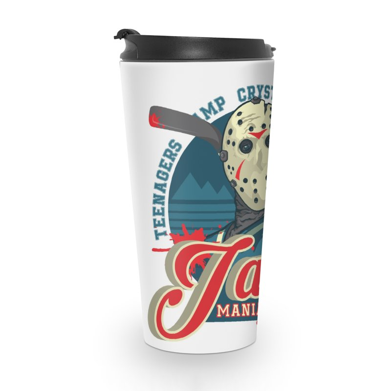 Jason Maniacs Accessories Travel Mug by malgusto