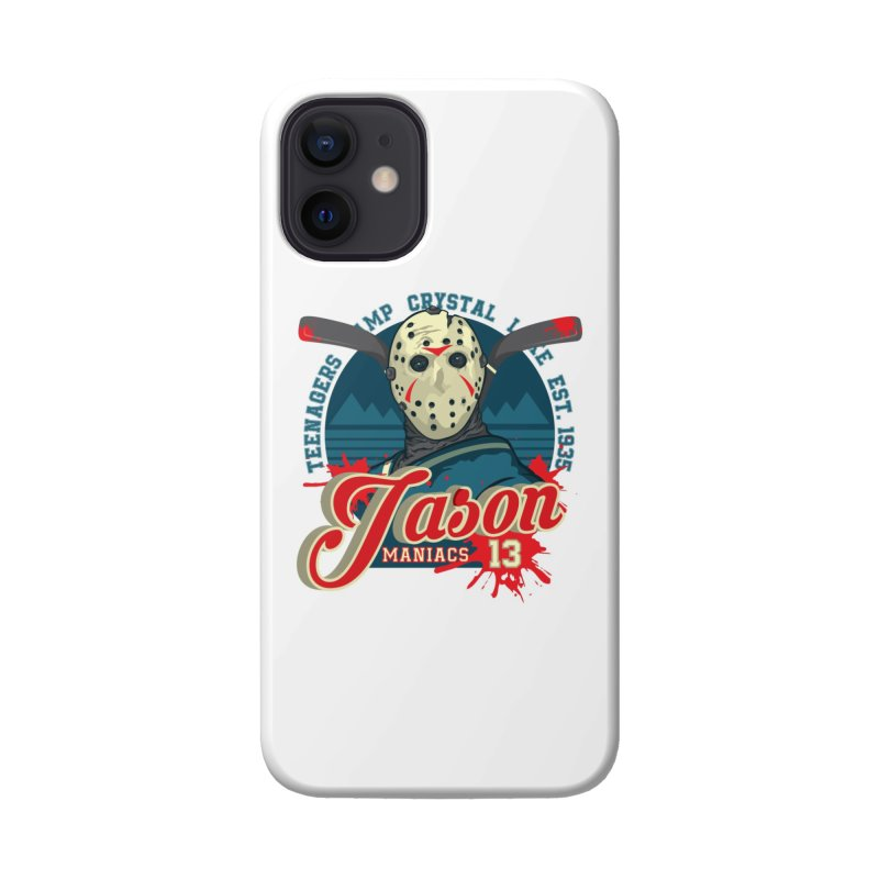 Jason Maniacs Accessories Phone Case by malgusto