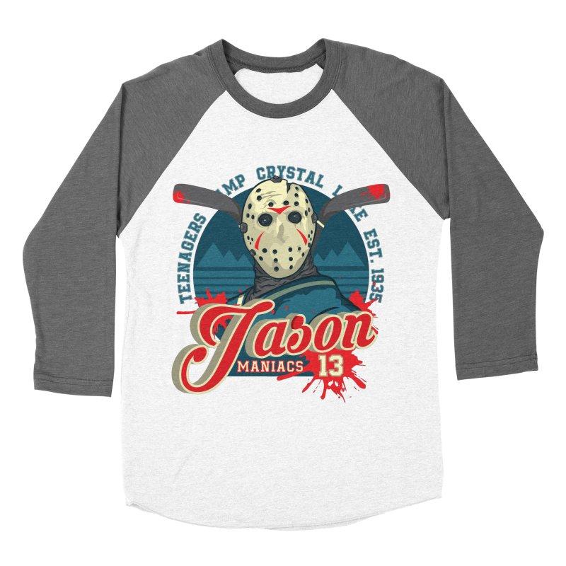 Jason Maniacs Women's Longsleeve T-Shirt by malgusto