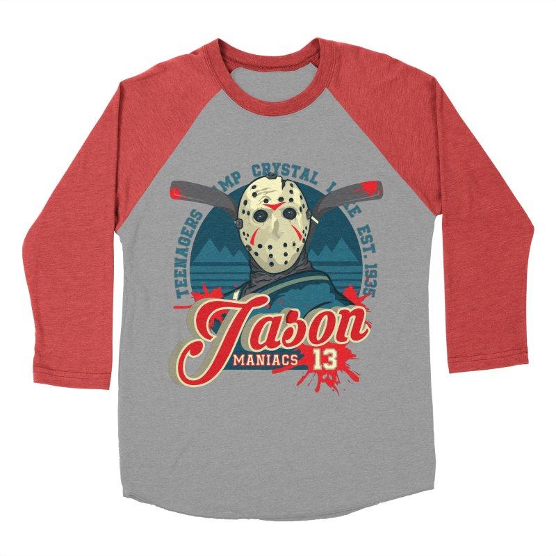 Jason Maniacs Men's Longsleeve T-Shirt by malgusto
