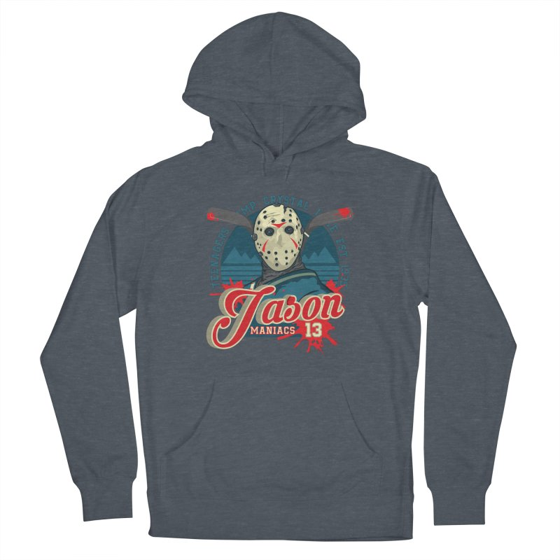 Jason Maniacs Men's French Terry Pullover Hoody by malgusto