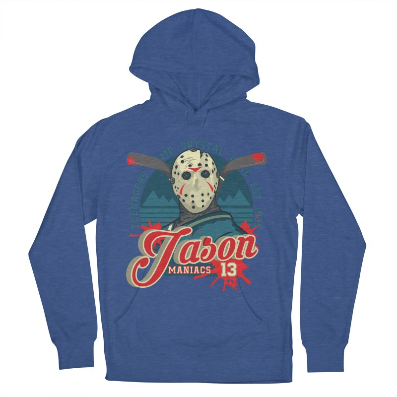 Jason Maniacs Women's French Terry Pullover Hoody by malgusto