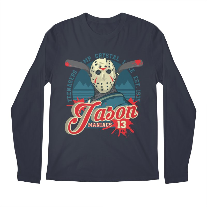 Jason Maniacs Men's Regular Longsleeve T-Shirt by malgusto