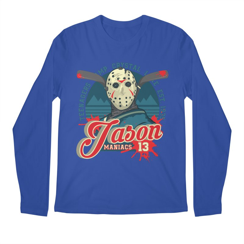 Jason Maniacs Men's Regular Longsleeve T-Shirt by malgusto