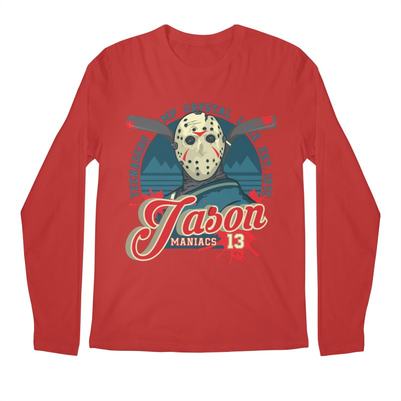 Jason Maniacs Men's Longsleeve T-Shirt by malgusto
