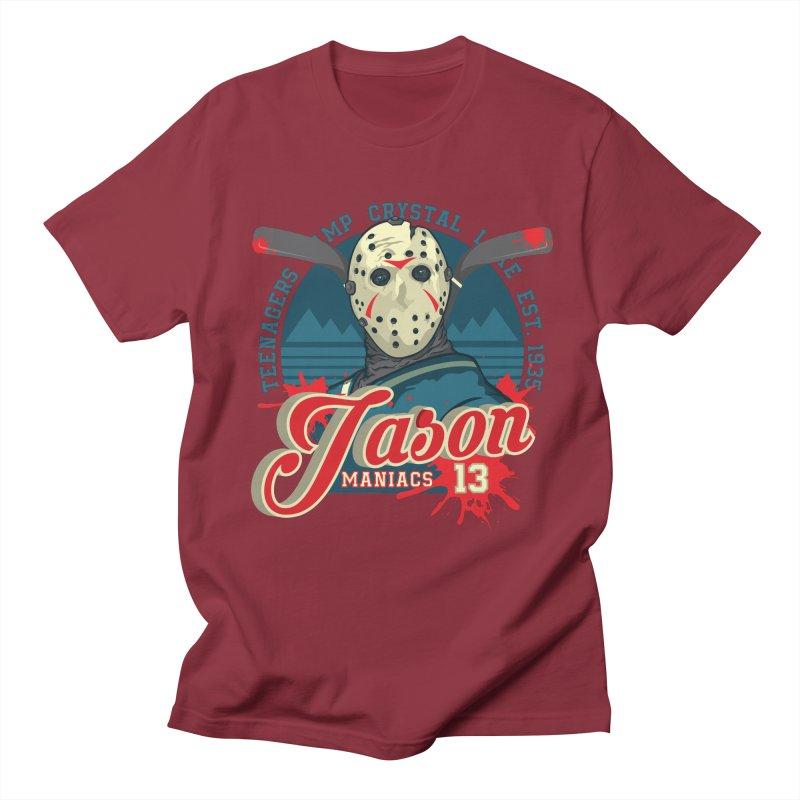 Jason Maniacs Men's T-Shirt by malgusto