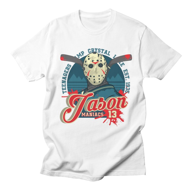 Jason Maniacs Women's Regular Unisex T-Shirt by malgusto