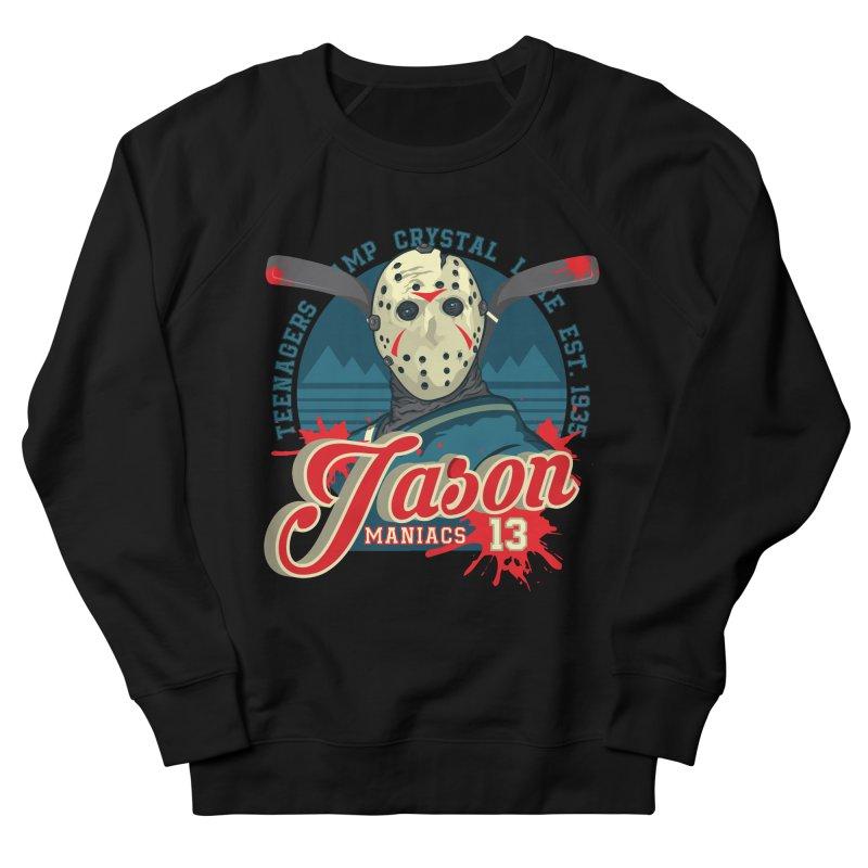 Jason Maniacs Women's French Terry Sweatshirt by malgusto