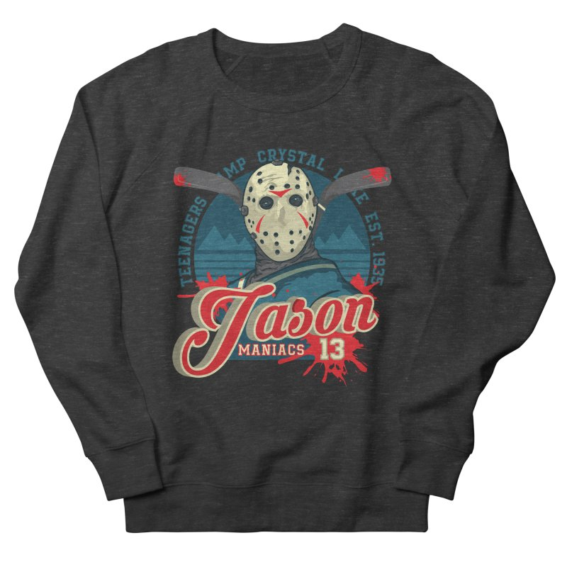 Jason Maniacs Men's French Terry Sweatshirt by malgusto
