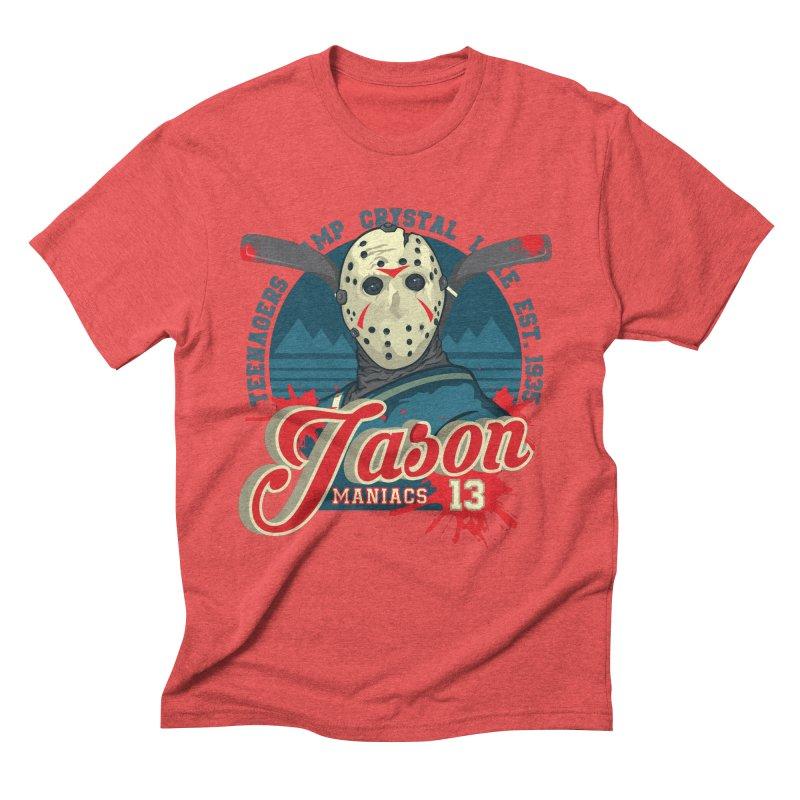 Jason Maniacs Men's Triblend T-shirt by malgusto