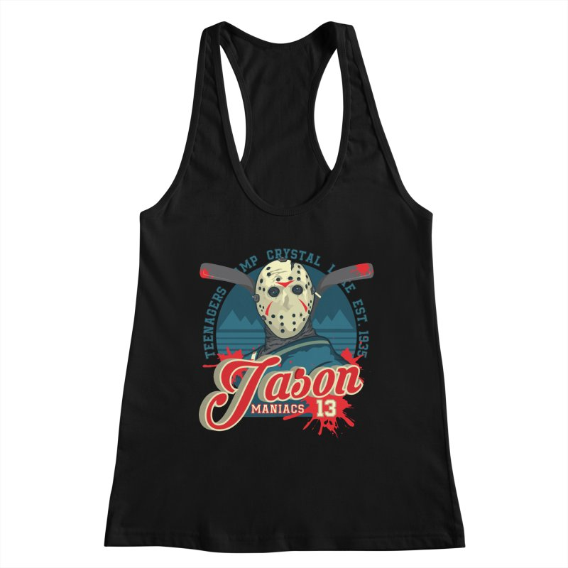 Jason Maniacs Women's Tank by malgusto