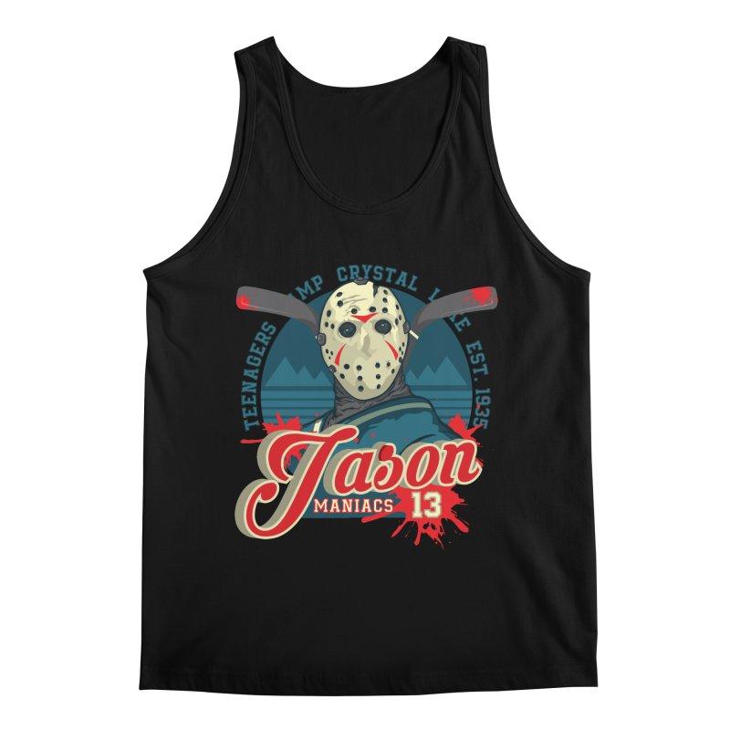 Jason Maniacs Men's Regular Tank by malgusto