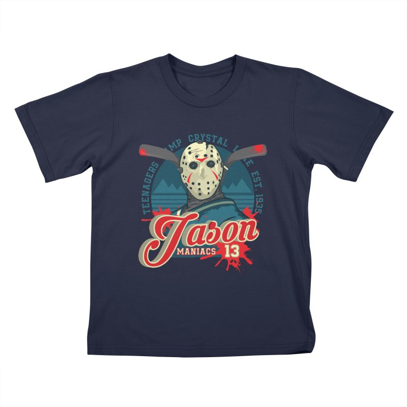 Jason Maniacs Kids T-Shirt by malgusto