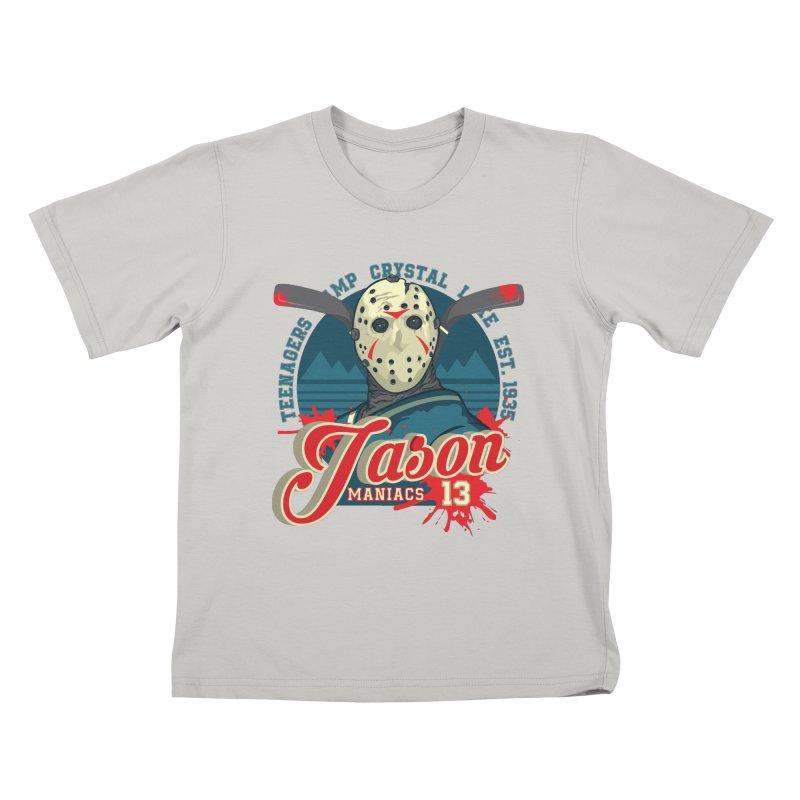 Jason Maniacs Kids T-shirt by malgusto