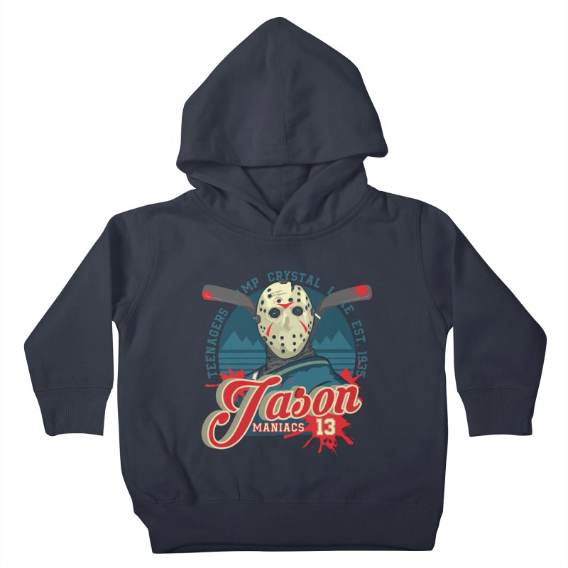 Jason Maniacs Kids Toddler Pullover Hoody by malgusto