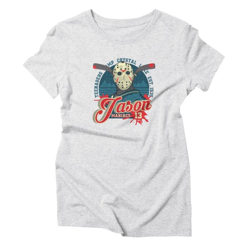 Jason Maniacs Women's T-Shirt by malgusto
