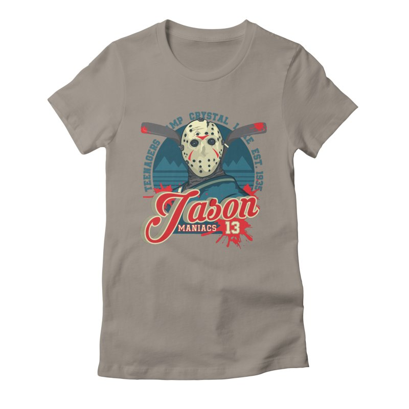 Jason Maniacs Women's Fitted T-Shirt by malgusto