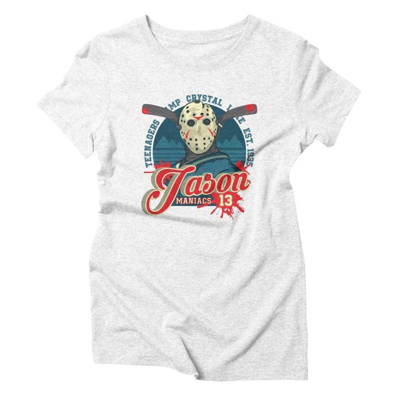 Jason Maniacs Women's Triblend T-shirt by malgusto