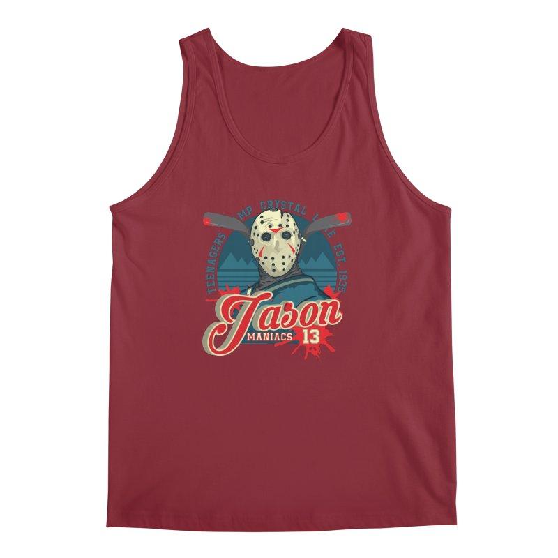 Jason Maniacs Men's Tank by malgusto