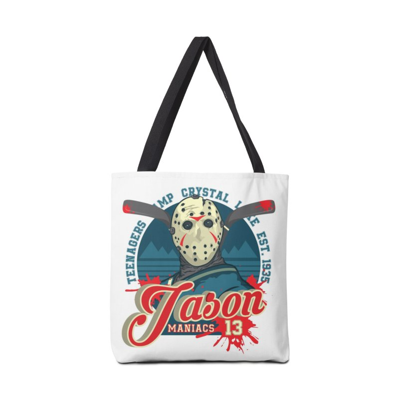 Jason Maniacs Accessories Tote Bag Bag by malgusto