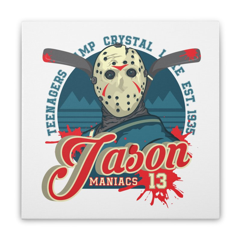 Jason Maniacs Home Stretched Canvas by malgusto