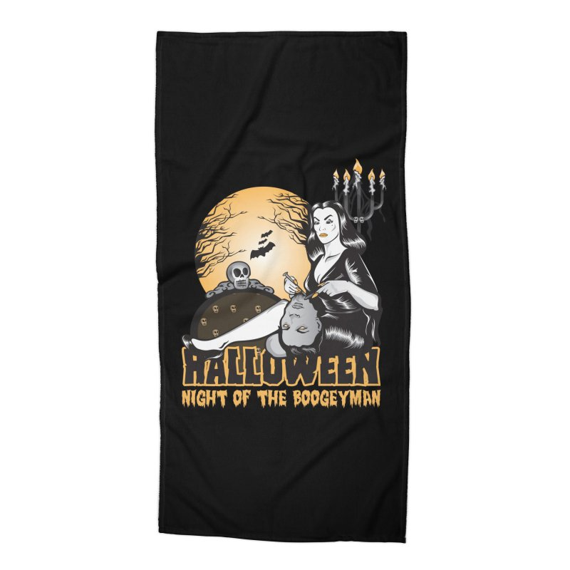 Night of the boogeyman Accessories Beach Towel by malgusto