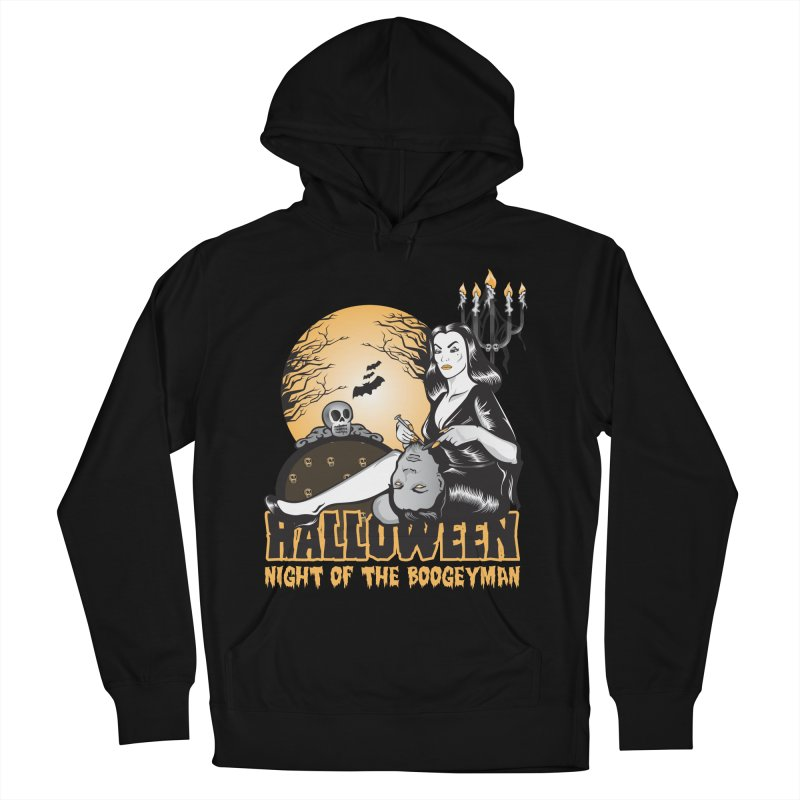 Night of the boogeyman Men's French Terry Pullover Hoody by malgusto