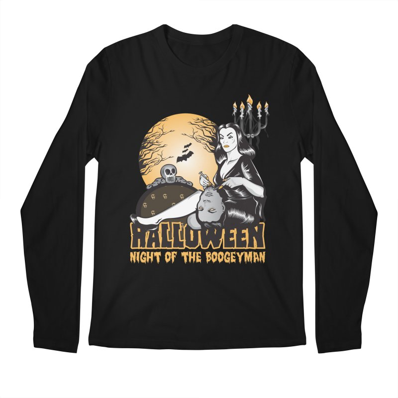 Night of the boogeyman Men's Longsleeve T-Shirt by malgusto