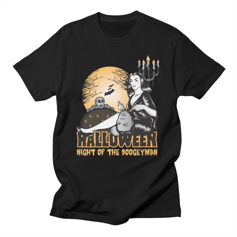 Night of the boogeyman Men's T-Shirt by malgusto