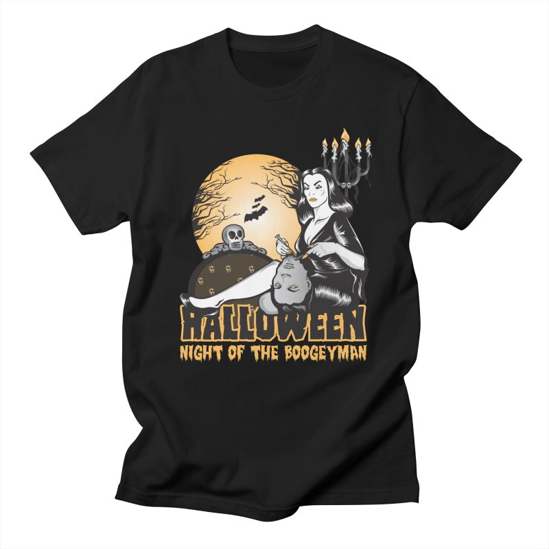 Night of the boogeyman Men's Regular T-Shirt by malgusto