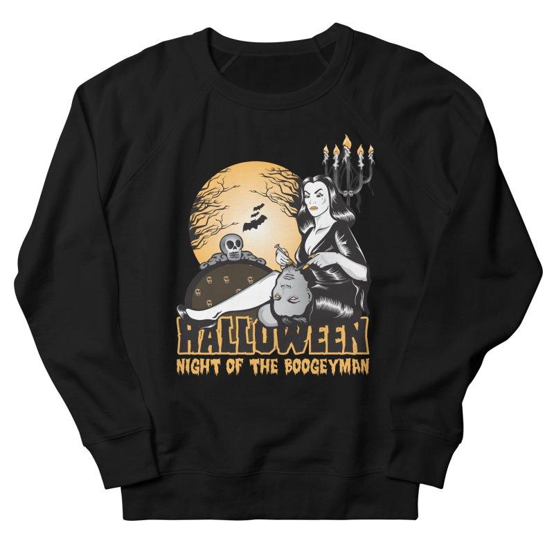 Night of the boogeyman Women's French Terry Sweatshirt by malgusto