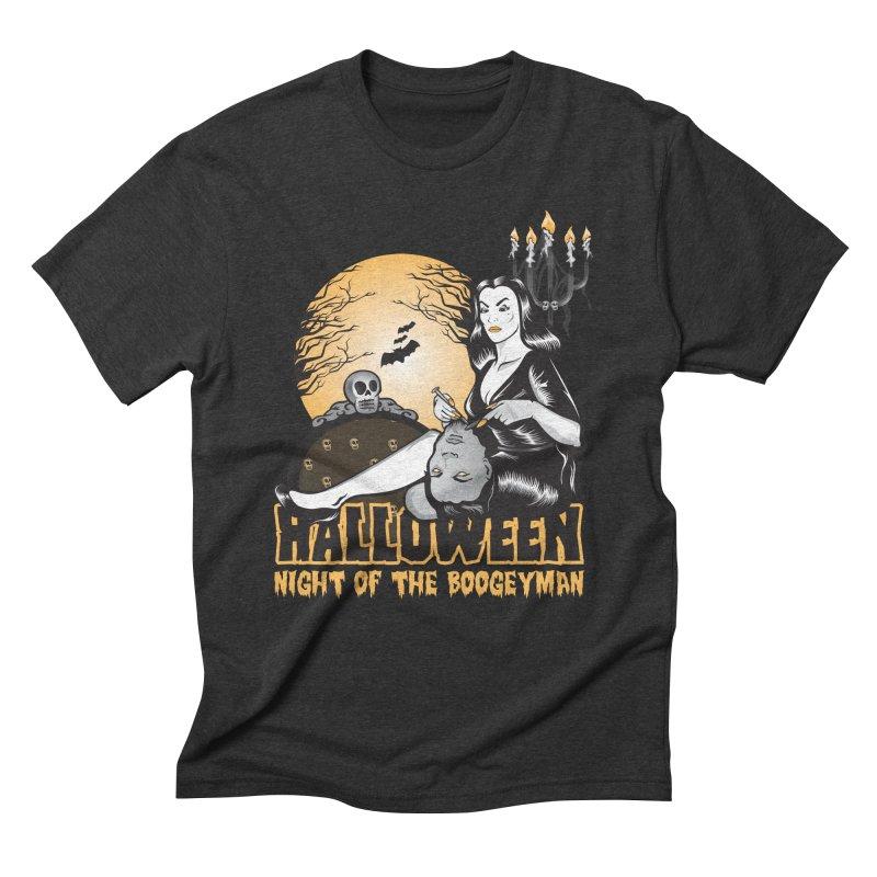 Night of the boogeyman Men's Triblend T-shirt by malgusto