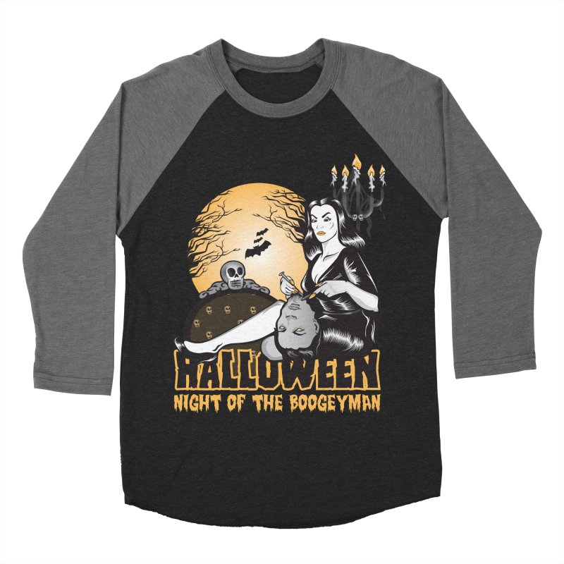 Night of the boogeyman Women's Baseball Triblend Longsleeve T-Shirt by malgusto