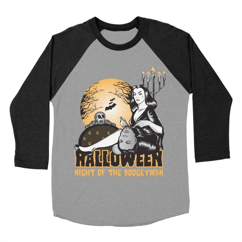 Night of the boogeyman Women's Baseball Triblend Longsleeve T-Shirt by malgusto