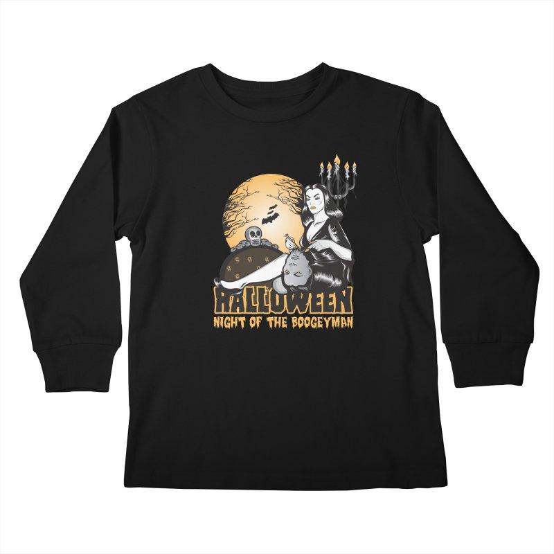 Night of the boogeyman Kids Longsleeve T-Shirt by malgusto