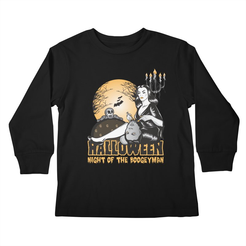 Night of the boogeyman Kids Longsleeve T-Shirt by malgusto