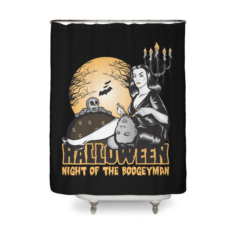 Night of the boogeyman Home Shower Curtain by malgusto