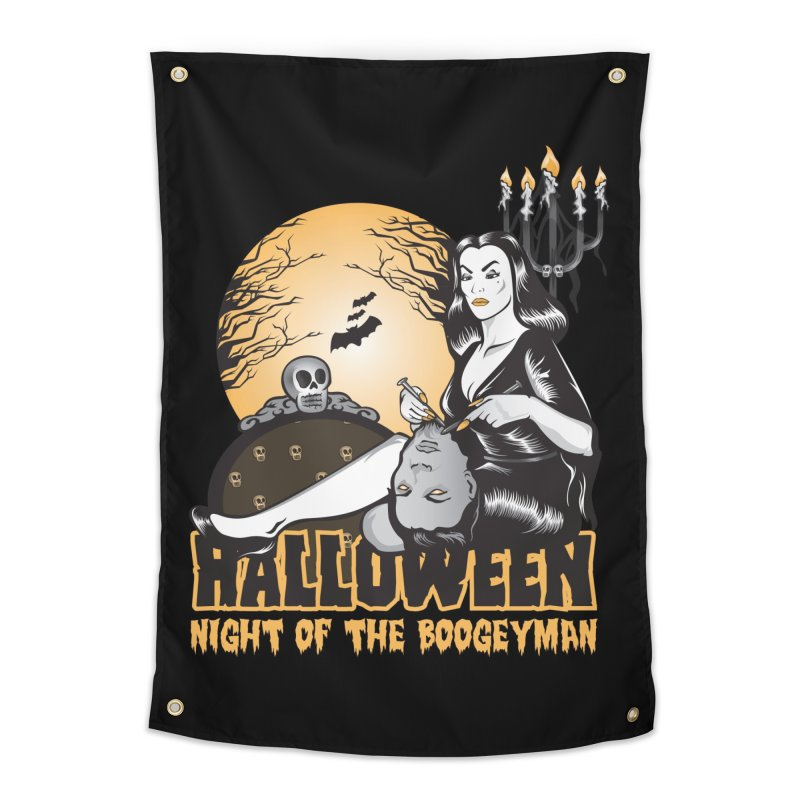 Night of the boogeyman Home Tapestry by malgusto