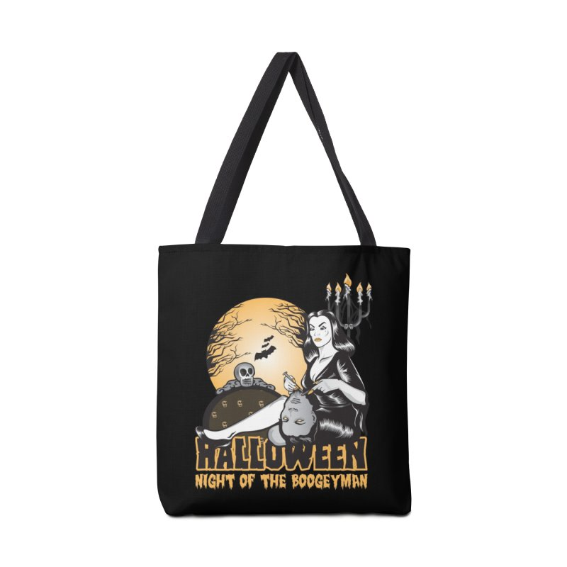 Night of the boogeyman Accessories Tote Bag Bag by malgusto