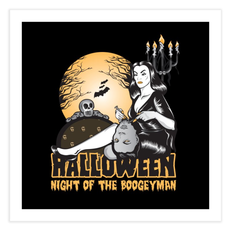 Night of the boogeyman Home Fine Art Print by malgusto