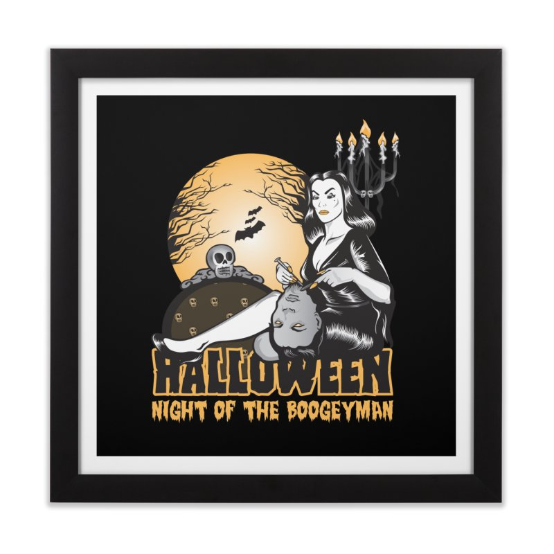 Night of the boogeyman Home Framed Fine Art Print by malgusto