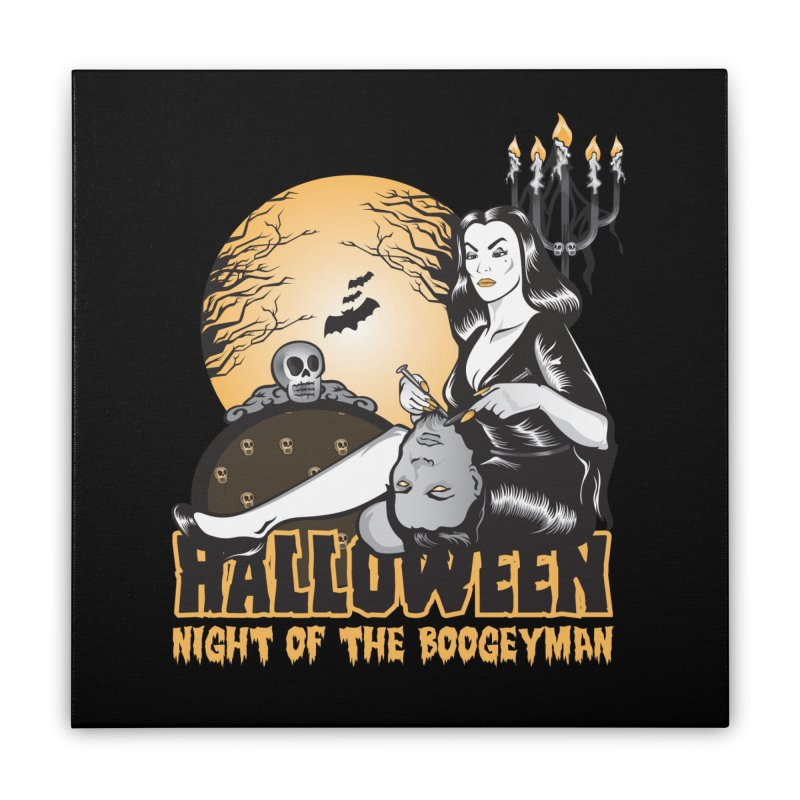 Night of the boogeyman Home Stretched Canvas by malgusto