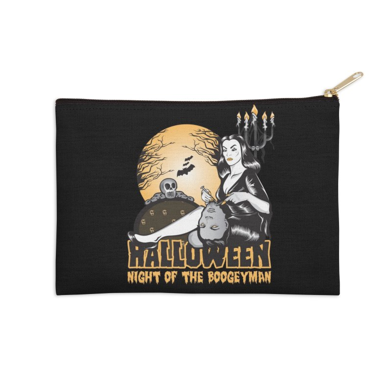 Night of the boogeyman Accessories Zip Pouch by malgusto