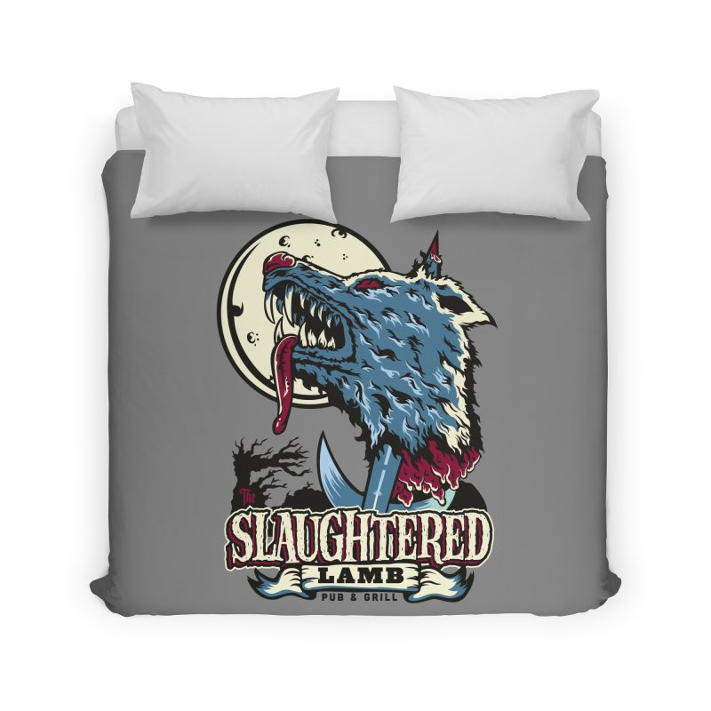 Slaughtered Lamb Home Duvet by malgusto