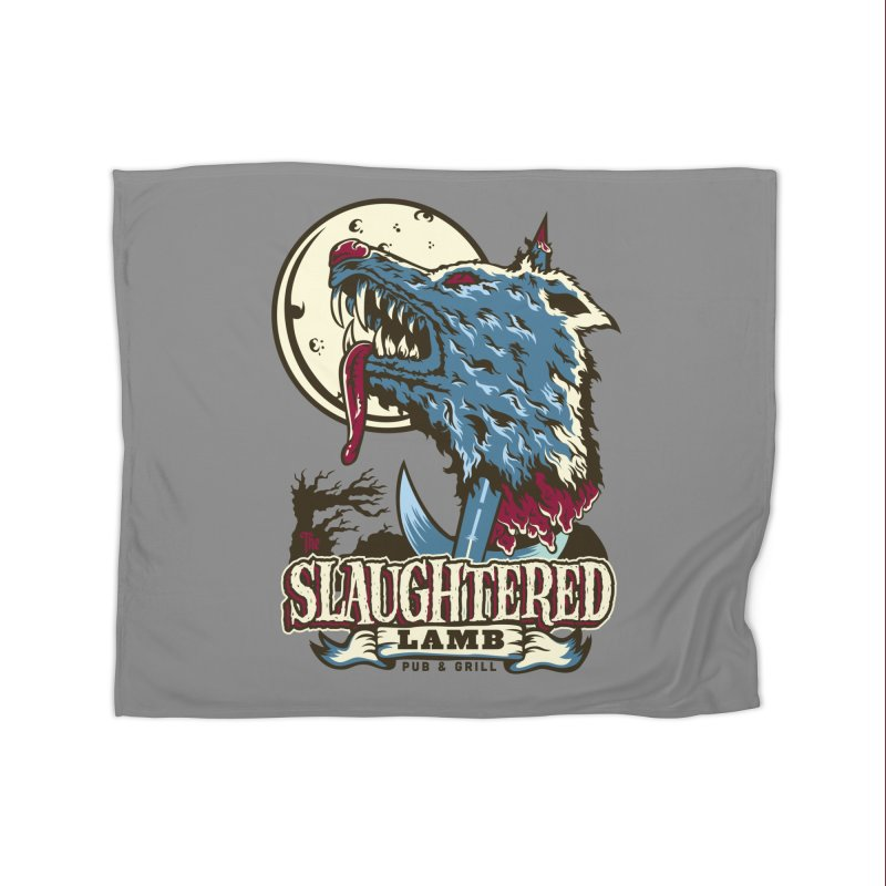 Slaughtered Lamb Home Fleece Blanket Blanket by malgusto