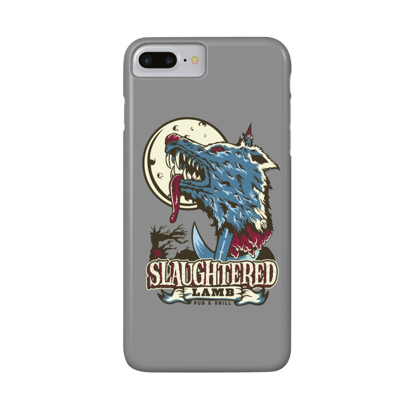 Slaughtered Lamb Accessories Phone Case by malgusto