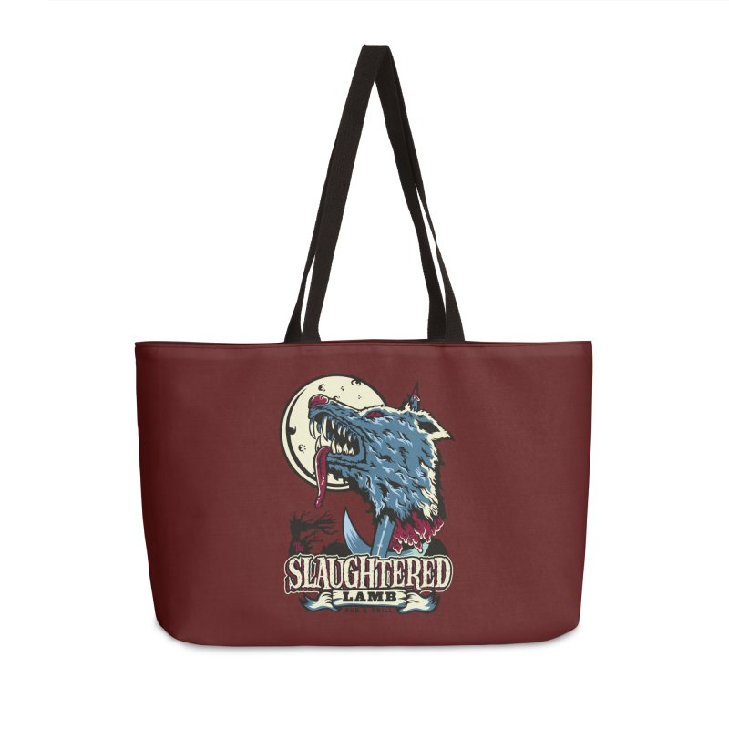Slaughtered Lamb Accessories Weekender Bag Bag by malgusto