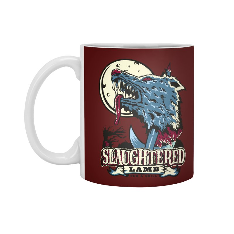 Slaughtered Lamb Accessories Mug by malgusto